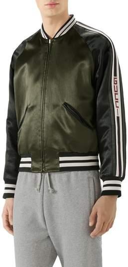 Gucci Souvenir Bomber Jacket