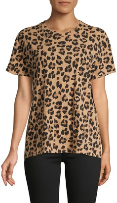 n:philanthropy Leopard-Print Cotton Tee