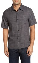 Nat Nast Men's Alta Classic Fit Silk Blend Camp Shirt