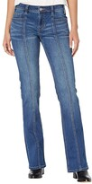 Thumbnail for your product : Rock and Roll Cowgirl Mid-Rise Bootcut with Clean Pocket and Front Seam Detail in Medium Wash W1-6158