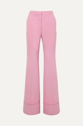 Stella McCartney Wool-twill Flared Pants - Pink