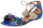 Malone Souliers Gladys Embellished Flat Sandal