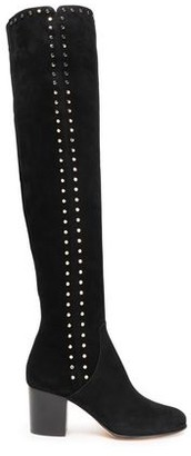 Jimmy Choo Studded Suede Over-the-knee Boots