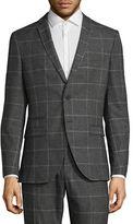 Selected Homme Windowpane Plaid Sports Jacket