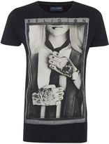 Religion Regular Fit Tie Girl Printed T Shirt