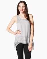Charming charlie Sequin Shimmer Tank