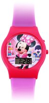Disney Minnie Mouse LCD Digital Watch Girls Wrist Watch Gift Stocking Stuffer