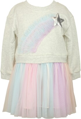 Popatu Rainbow Star Tulle Dress
