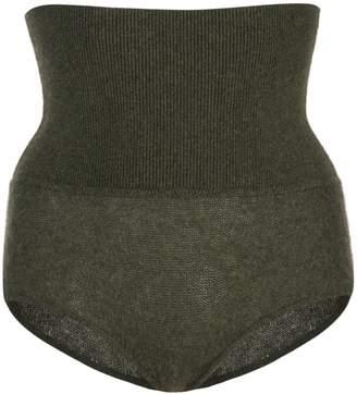 KHAITE high-waisted shorts