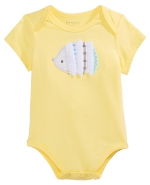 First Impressions Baby Boys Hedgehog Bodysuit, Created for Macy's