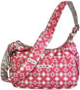 Ju-Ju-Be Hobo Be Diaper Bag, Pink Pinwheels