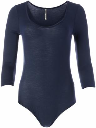 Tresics Junior's Scoop Neck Mid Length Sleeve Bodysuit