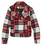 Arizona Plaid Moto Jacket - Girls 6-16