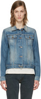 Simon Miller Indigo Denim Keyes Jacket