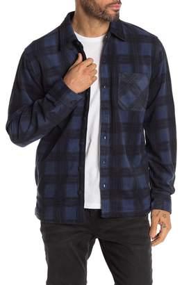 Weatherproof Plaid Long Sleeve Shirt Jacket