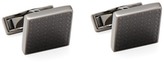 Canali Stainless Steel Square Cufflinks