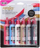 Tulip 17581 Dimensional Fabric Paint, 6-Pack