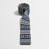 J.Crew Factory Knit Fair Isle tie