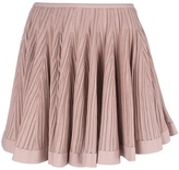 Alaia pleated skirt