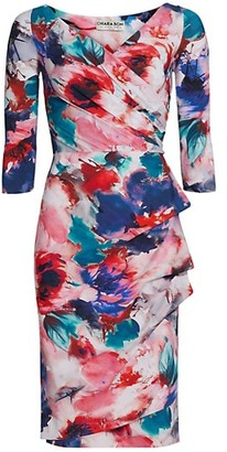 Chiara Boni Florien Floral Sheath Dress