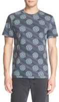 A.P.C. Men's 'Wimbledon' Print Cotton T-Shirt