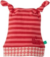 Little Green Radicals Twin Knotted Hat (Baby) - Red-9-12 Months
