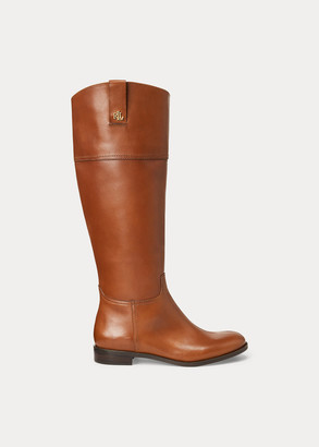 Ralph Lauren Barkston Leather Boot