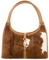 Gucci Pony Hair Bardot