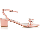 Tabitha Simmons Folie daisy-embellished leather sandals
