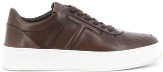 Tod's Monogram Flatform Sneakers