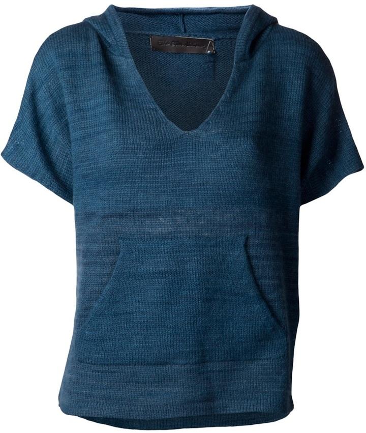 The Elder Statesman 'Baja' cashmere sweater