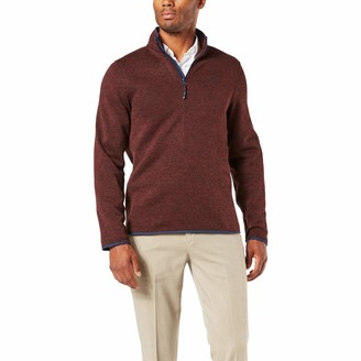 Dockers Long Sleeve Quarter Zip Sweater