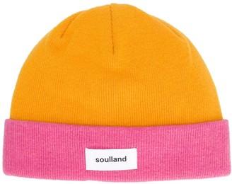 Soulland Villy colour-block beanie