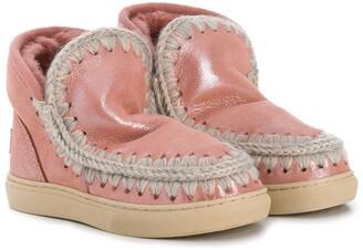 Mou Kids Slip-On Boots