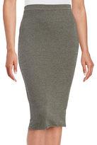 Max Mara Textured Pencil Skirt