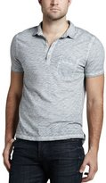 7 For All Mankind Slub Polo, Cloud