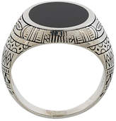 Eleventy engraved ring