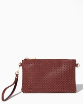 Charming charlie Klein Perforated Crossbody Wristlet