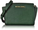 Michael Kors Saffiano Leather Selma Mini Messenger