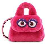 Thumbnail for your product : Moschino With Eyes Faux Fur Shoulder Bag