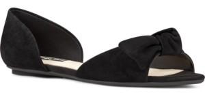 Nine West Bonnie Two-Piece Bow Flats Women's Shoes