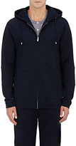 Hamilton and Hare Men's Cotton-Blend Hoodie-NAVY