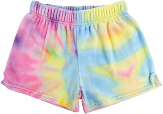 Iscream Pastel Tie Dye Pajama Shorts