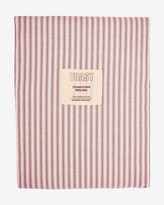 Toast Organic Ticking Stripe Fitted Sheet