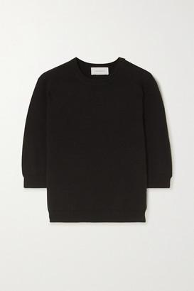 ALEXANDRA GOLOVANOFF Kawai Cotton Sweater - Black