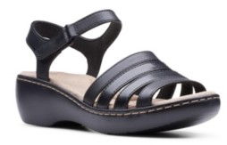 Clarks Collection Women's Delana Brenna Flat Sandals Women's Shoes