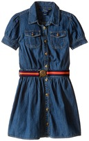 Polo Ralph Lauren Denim Shirtdress (Little Kids)