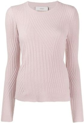 Pringle Travelling Ribbed Knit Sweater