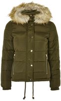 Topshop PETITE Puffer Jacket