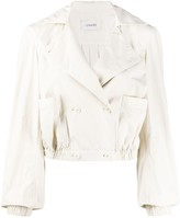 Lemaire cropped double breasted jacket